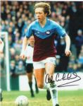 Alan Curbishley, Football, Genuine Signed Autograph (01)